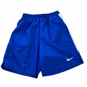 "Nike Dry Challenger 7"" Blue Running Shorts Size XS"